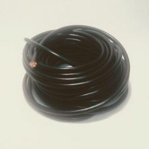 Batériový kábel 10mm čierny